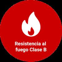 Resistencia al fuego Clase B