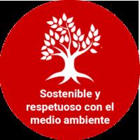 Sostenible y respetuoso con el medio ambiente